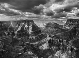the confluence of the colorado and the little colorado. arizona. usa. by sebastião salgado