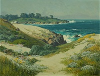 17 mile drive, carmel by the sea by carl sammons