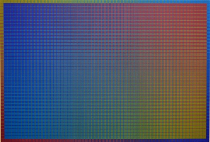 ii-12 #1 (blue-n) by sanford wurmfeld