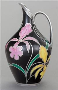 floral ewer by hutschenreuther