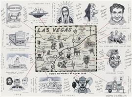guide to weird las vegas map by jeffrey vallance