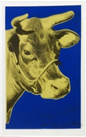 cow ii.12 by andy warhol