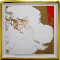 santa claus, ii.266 by andy warhol