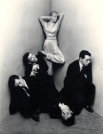kay thompson & the williams brothers by irving penn