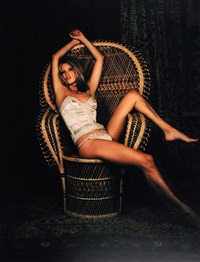 kate in chair by mary mccartney