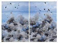 explosion diptich by daniel and geo fuchs