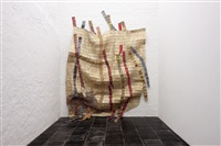 hesitant rivers by el anatsui