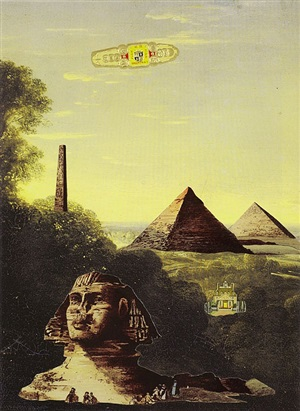 egyptian landscape by john ashbery