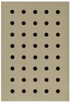 quarante cercles (fs 218) by john armleder