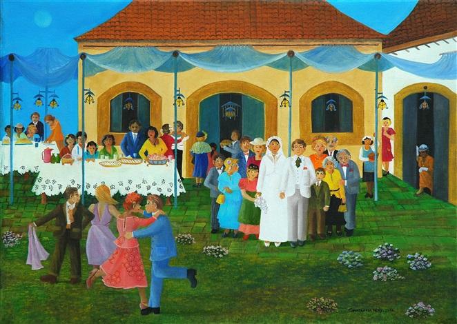 palco para o casamento - scene for wedding by constancia nery