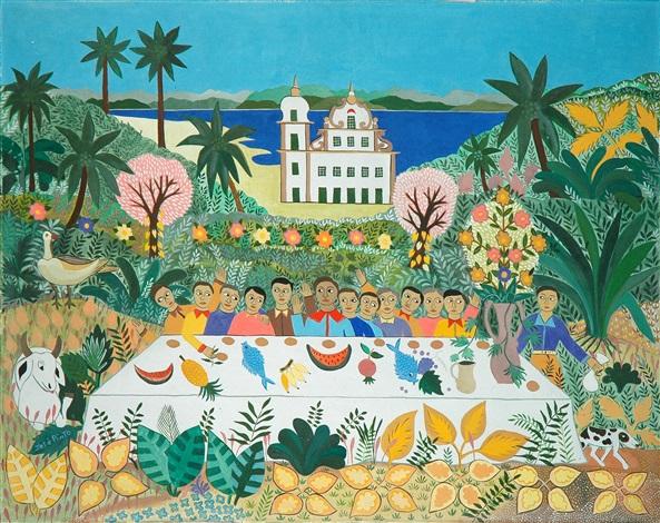 santa ceia / last supper by josé pinto