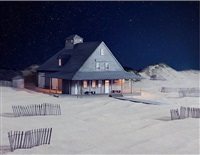 party at caffey's inlet lifesaving station (dare county, nc) by james casebere