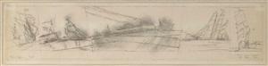 schepen by lyonel feininger
