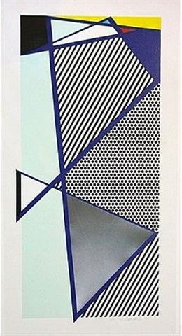 imperfect print for b.a.m. (from the brooklyn academy of music 125th anniversary portfolio) by roy lichtenstein