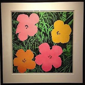 flowers 1964 by andy warhol