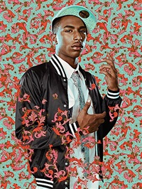 after sir joshua reynold's portrait of doctor samuel johnson by kehinde wiley