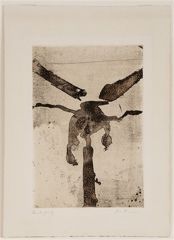 paroles peintes iii untitled (painted words) by robert motherwell