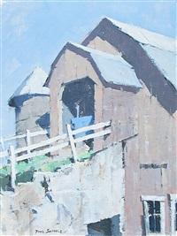 new england barn by paul sample
