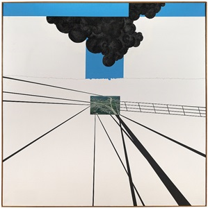 double overpass by allan d'arcangelo