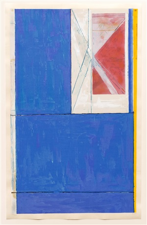 blue by richard diebenkorn