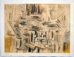 hommage a j.s. bach by georges braque