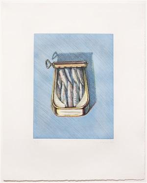 sardines by wayne thiebaud