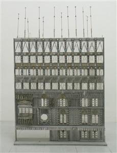 maquette pour la facade de rtl by jean carzou