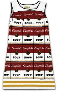 souper dress by andy warhol