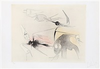 untitled from visible invisible (7116) by wifredo lam