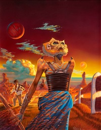 riffles, aboriginal science fiction cover, summer by peter a. peebles