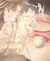 circus scene by clarence holbrook carter