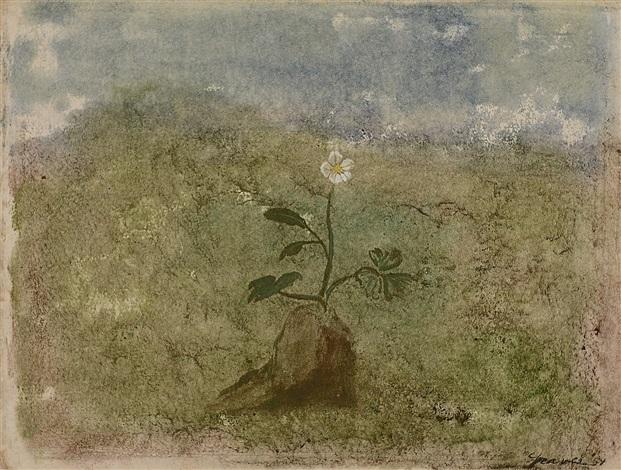 winter flowers by morris graves