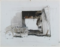 hayloft by andrew wyeth