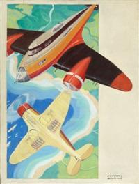 portrait of planes by courtney allen