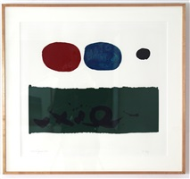 green foreground by adolph gottlieb