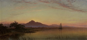 mt. diablo, san joaquin river by john ross key