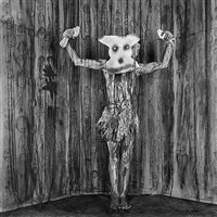 alter ego (from asylum series) by roger ballen