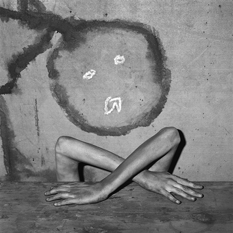 mimicry (from boarding house series) by roger ballen