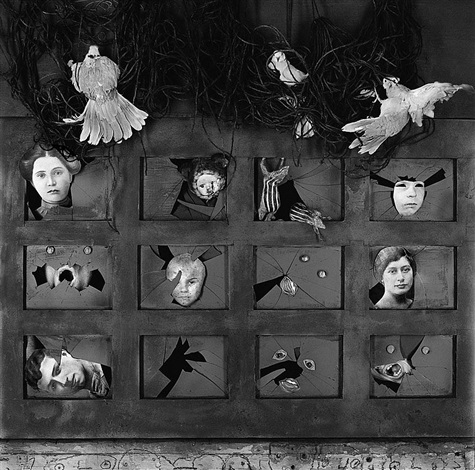 untitled (from asylum series) by roger ballen