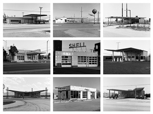 twenty-six abandoned gasoline stations (portfolio) by jeff brouws