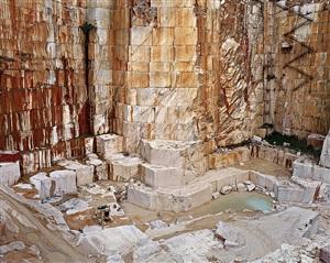 iberia quarries #2, bencatel, portugal by edward burtynsky