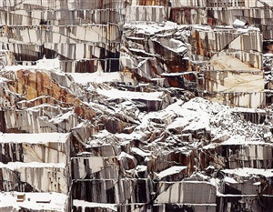 rock of ages #17, abandoned section, adam-pirie quarry, barre, vermont by edward burtynsky