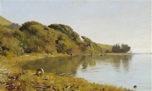 bolinas bay by thaddeus welch