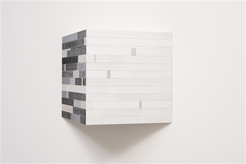 untitled (black and white wedge) by brian wills