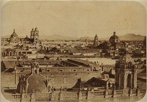 city of mexico, 1859 by désiré charnay