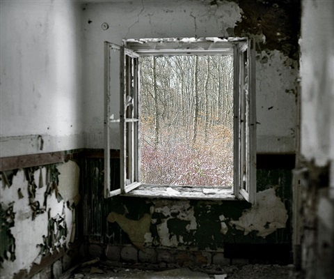 abandoned room (soviet base, szentkiralyszabadja, west hungary) by tamas dezso