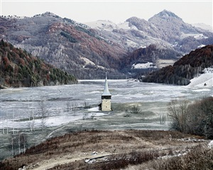 the flooded village of geamana (geamana, central romania) by tamas dezso