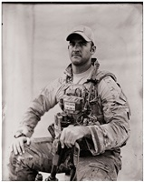"great, great grandson of william cody aka ""buffalo bill"", pararescueman, helmand province, afghanistan by ed drew"