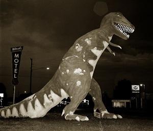dinosaur, highway 40, vernal, utah by steve fitch
