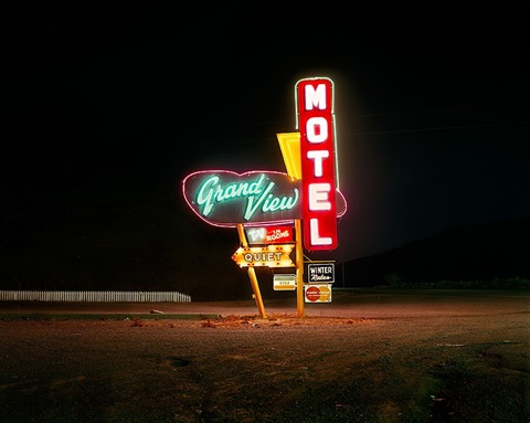 grandview motel, raton, new mexico by steve fitch